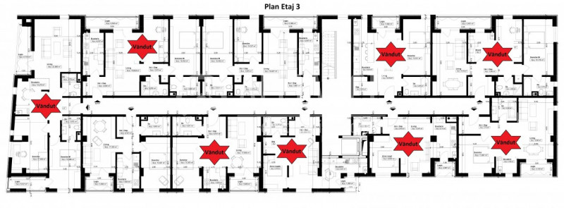 Elvila - B-dul Tomis - 3 camere 89,23mp + loc parcare COMISION 0%