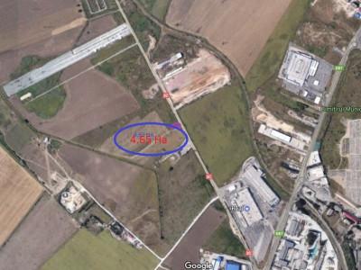 Varianta Ovidiu (DJ 156), teren 46500 mp, front stradal.