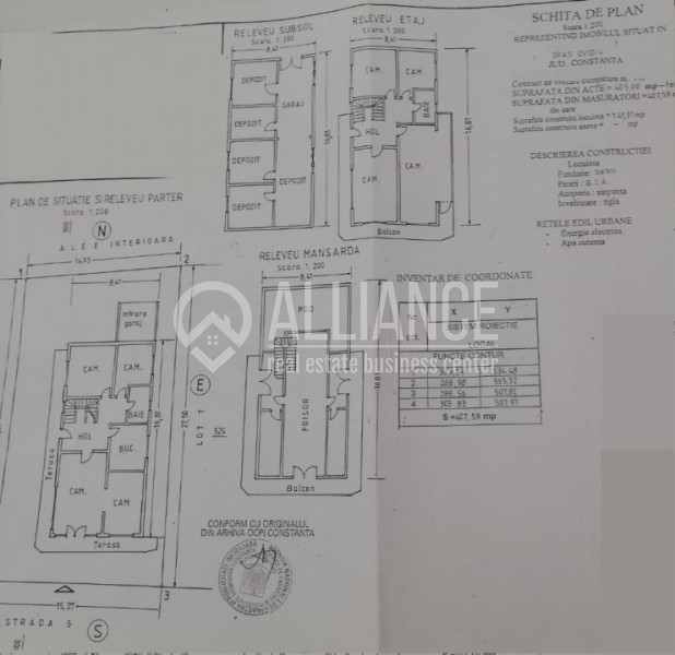 OVIDIU SUD - LAKE RESIDENCE - Vila 8 camere cu centrala gaz