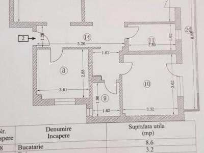 Apartament de 3 camere Compozitorilor la Alb